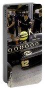 Ayrton Senna. 1986 German Grand Prix Portable Battery Charger