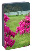 Azaleas At The Azores Portable Battery Charger