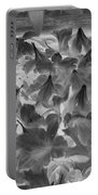Azaleas Black And White Portable Battery Charger
