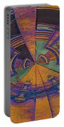 Aztec Abstract Portable Battery Charger