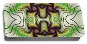 Aztec Art Design Portable Battery Charger