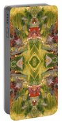 Aztec Kaleidoscope - Pattern 001 - Desert Portable Battery Charger