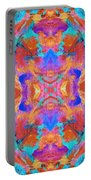 Aztec Kaleidoscope - Pattern 015 Portable Battery Charger