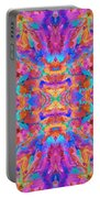 Aztec Kaleidoscope - Pattern 030 Portable Battery Charger