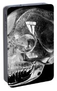 Aztec Rock Crystal Skull Portable Battery Charger