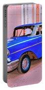 Azul Cobalto Portable Battery Charger