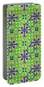 Azulejos Magic Pattern - 08 Portable Battery Charger