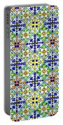 Azulejos Magic Pattern - 11 Portable Battery Charger
