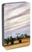 B-17 Aluminum Overcast - Bomber - Cantrell Field Portable Battery Charger