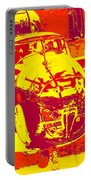 B-25 Red Yellow Portable Battery Charger