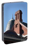 B And O Railroad Station In Oakland Maryland Portable Battery Charger