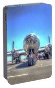 B29 Superfortress At Modesto Portable Battery Charger
