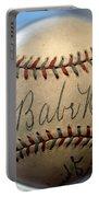 Babe Ruth Baseball. Portable Battery Charger