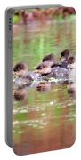 Babies Hooded Merganser Portable Battery Charger