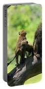 Baboon Family Portable Battery Charger