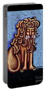 Baby Blue Byzantine Lion Portable Battery Charger