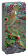 Baby Bunny - Use Red-cyan 3d Glasses Portable Battery Charger