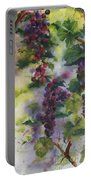 Baby Cabernet I  Triptych  Portable Battery Charger