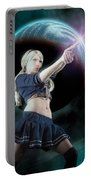 Baby Doll Shoots Back Portable Battery Charger