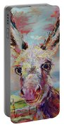 Baby Donkey Painting By Kim Guthrie Art Portable Battery Charger