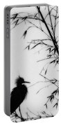 Baby Egret Waits Portable Battery Charger