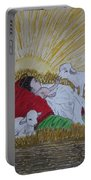 Baby Jesus At Birth Portable Battery Charger