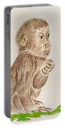Baby Monkey  Portable Battery Charger