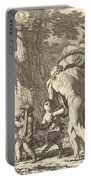 Bacchanal With Figures Carrying A Vase Portable Battery Charger