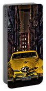 Back Alley Taxi Cab Portable Battery Charger