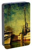 Back Home In The Harbor Portable Battery Charger