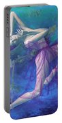 Back In Time Portable Battery Charger by Dorina  Costras