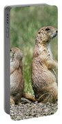 Back To Back Prairie Dogs Portable Battery Charger