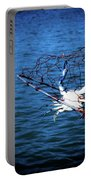 Back To The Bay Blue Crab Portable Battery Charger