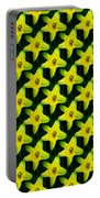 Background Choice Daffodils Portable Battery Charger