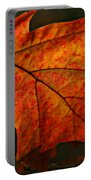 Backlit Leaf Portable Battery Charger