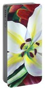 Backlit Lilly Portable Battery Charger