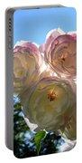 Backlit Roses Portable Battery Charger