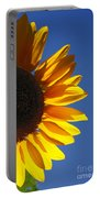 Backlit Sunflower Portable Battery Charger