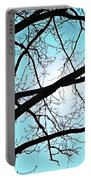 Backlit Tree Portable Battery Charger
