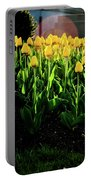 Backlit Tulips Portable Battery Charger