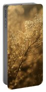 Backlit Wildflower Seeds In Autumn Portable Battery Charger