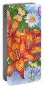 Backyard Bouquet Portable Battery Charger