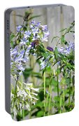 Backyard Flowers Portable Battery Charger