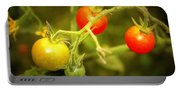 Backyard Garden Series - Cherry Tomatoes Portable Battery Charger