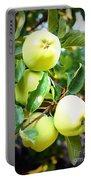 Backyard Garden Series- Golden Delicious Apples Portable Battery Charger