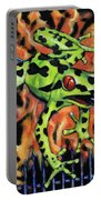 Bad Froggy In Hell Portable Battery Charger