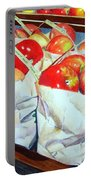 Bags Of Apples Portable Battery Charger