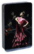 Bailarina Orgullosa Del Flamenco Portable Battery Charger