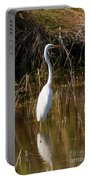 Bailey Tract Egret Two Portable Battery Charger