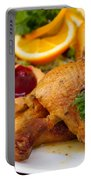 Baked Duck Portable Battery Charger